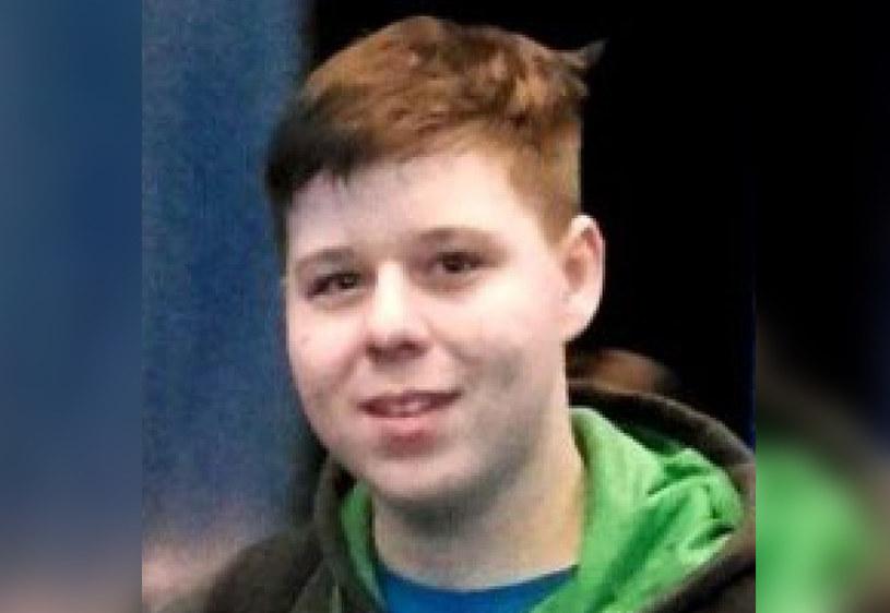 Zaginiony 16-letni Kamil Radiusz /sosnowiec.slaska.policja.gov.pl /INTERIA.PL