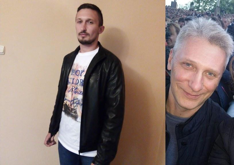 Zaginiony 27-latek i jego 51-letni ojciec /archiwum prywatne