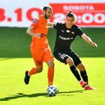 Zagłębie Lubin - Cracovia 1-1 w meczu 4. kolejki Ekstraklasy