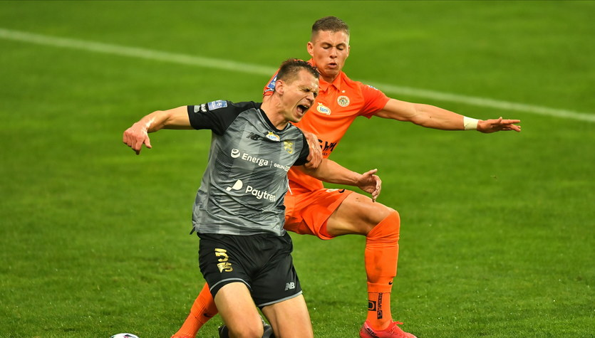 Zagłębie Lubin - Lechia Gdańsk 1-1 w meczu 8. kolejki Ekstraklasy