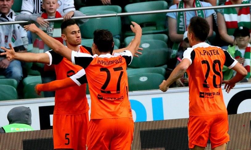 Zagłębie Lubin ma na koncie cztery porażki z rzędu w lidze /Kuba Atys /INTERIA.PL
