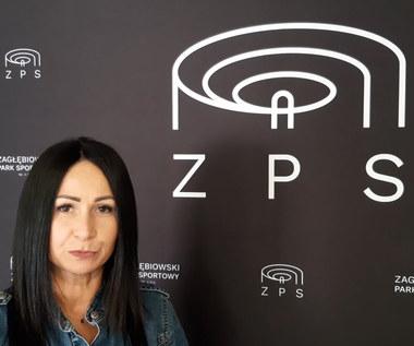 Zagłębie Sosnowiec.Karina Skowronek, prezes Zaglebiowskiego Parku Sportowego opowiada o postępach prac w ostatnich miesiącach. Wideo