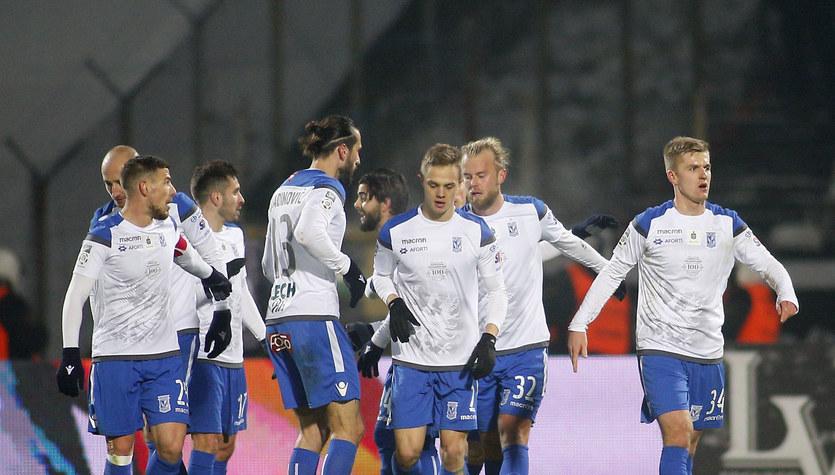 Zagłębie Sosnowiec - Lech Poznań 0-6 w meczu 19. kolejki Lotto Ekstraklasy