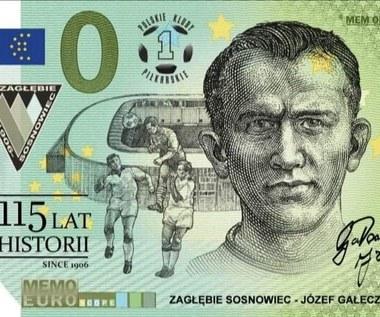 Zagłębie Sosnowiec. Pamiątkowy banknot chcą mieć dzieci i kibice po osiemdziesiątce