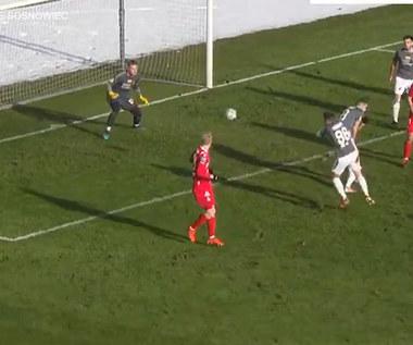 Zagłębie Sosnowiec - Wisła Kraków 2-2. Wszystkie bramki. Wideo
