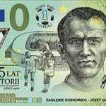 Zagłębie Sosnowiec z pierwszym pamiątkowym banknotem w Polsce