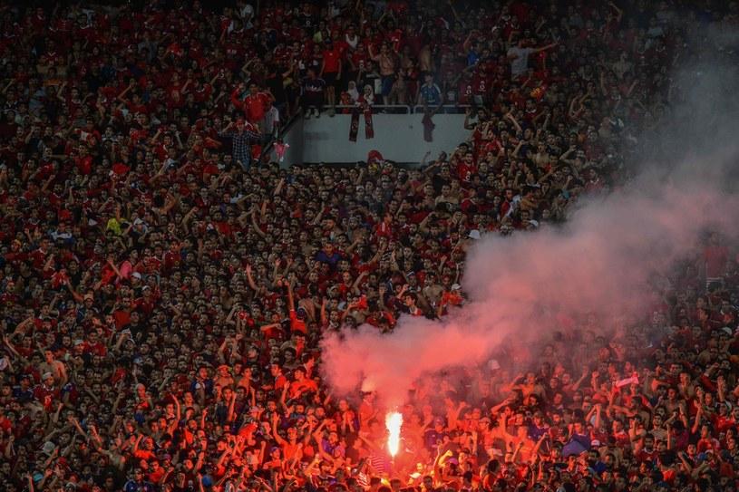 Zagorzali fani Al-Ahly. /AFP