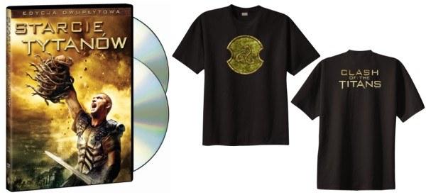 Zagraj o dwu-płytowe wydanie DVD filmu Starcie Tytanów oraz koszulki z motywem z filmu /Informacja prasowa