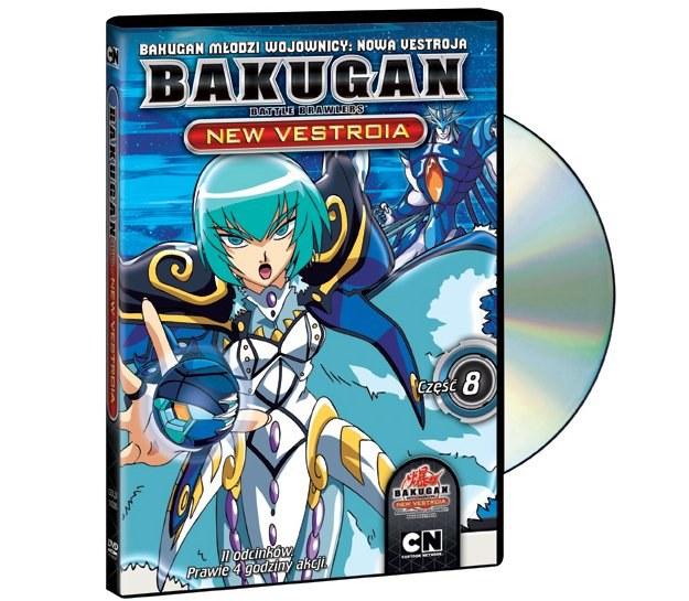 Zagraj o kontynuacje przygód bohaterów serii Bakugan na DVD /Informacja prasowa