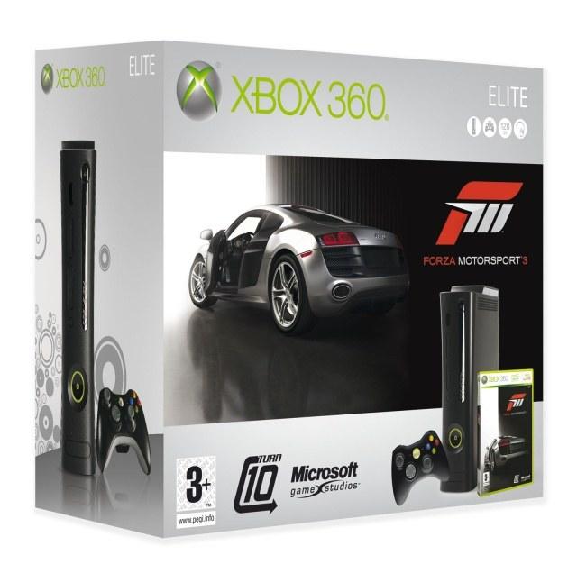 Zagraj o zestaw Xbox 360 Elite 120 GB z grą Forza Motorsport 3 /Informacja prasowa