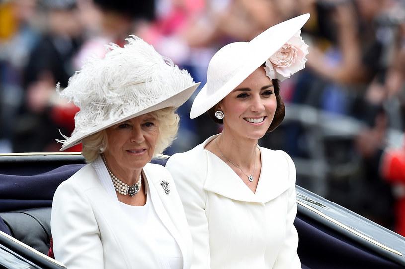 Zagraniczna prasa twierdzi, że między Kamilą a Kate miała dojść do spięcia /Ben A. Pruchnie /Getty Images