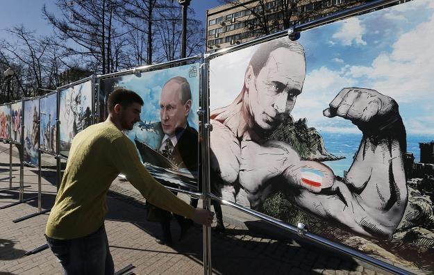 Zagraniczne firmy wyniosą się z Rosji? Fot. Yuri Kochetkov /PAP/EPA