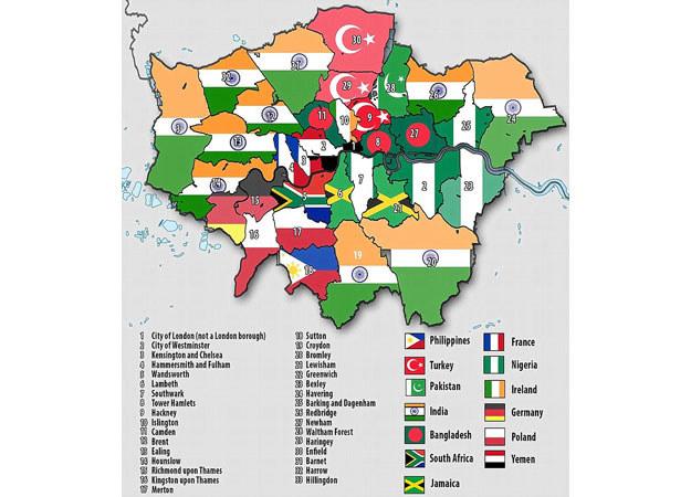Daily Mail Polski Londyn Gdzie Mieszkaja Nasi Rodacy Fakty