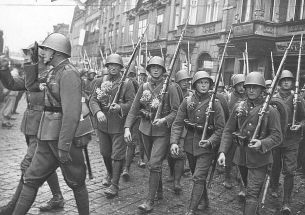 Zajęcie Zaolzia. Wkroczenie wojsk polskich do Czeskiego Cieszyna /Z archiwum Narodowego Archiwum Cyfrowego
