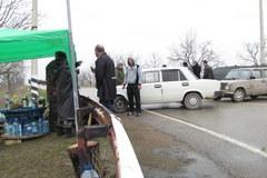 Zajęte bazy w Belbeku i Bachczysaraju