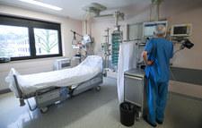 Zajęte łóżka i respiratory. Dane z 10 czerwca