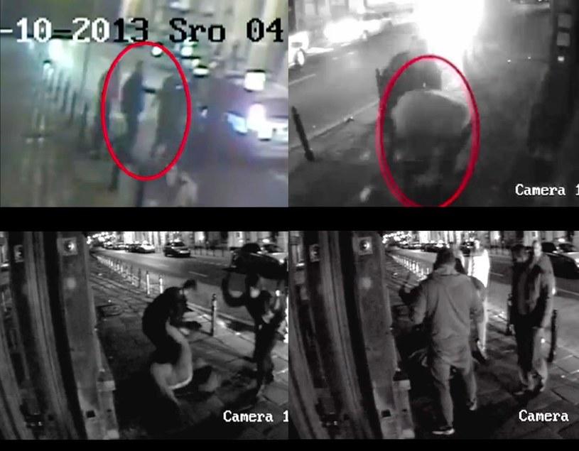 Zajście nagrały kamery monitoringu /East News
