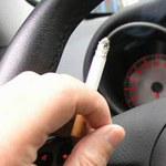 Zakaz palenia za kierownicą