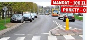 Zakaz parkowania 15 m od wysepki /Motor