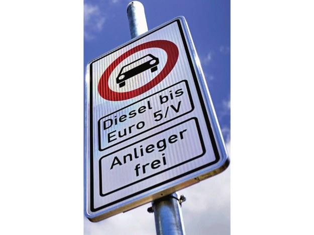 zakaz wjazdu dla diesli /Motor