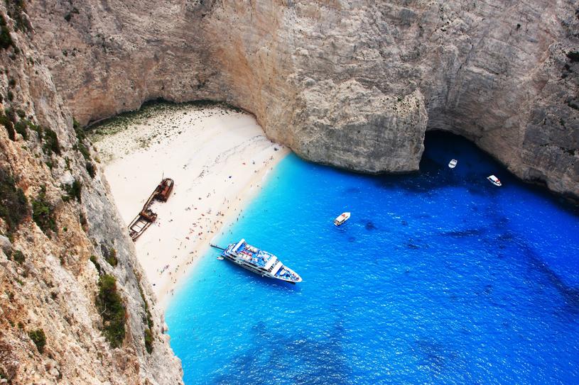 Zakintos jest jedną z najbardziej  fotogenicznych wysp w Europie. /123RF/PICSEL