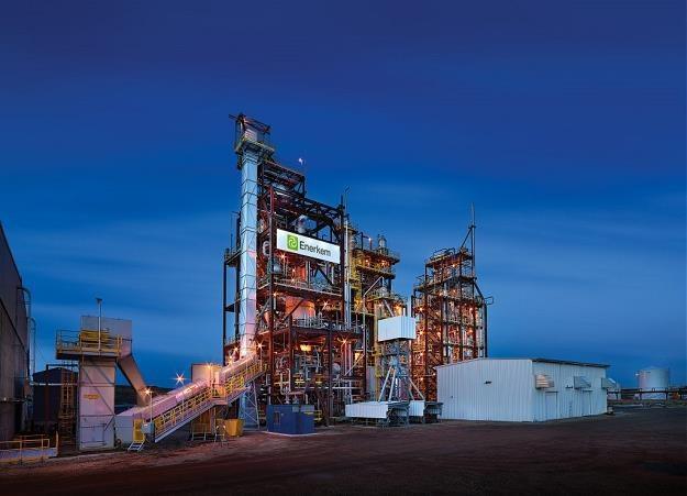 Zakład Enerkem Alberta Biofuels. Fot. Merle Prosofsky /Informacja prasowa