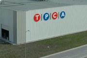 Zakład TPCA (Toyota Peugeot Citroen Automobile Czech) w Kolinie /INTERIA.PL
