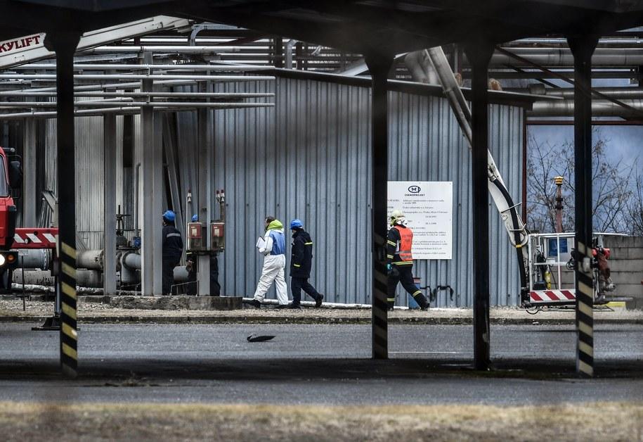 Zakład, w którym doszło do wybuchu /FILIP SINGER /PAP/EPA