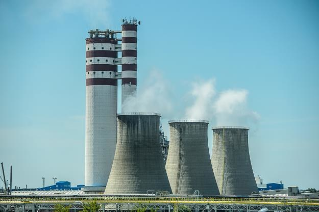 Zakłady azotowe w Puławach - elektrociepłownia /PAP