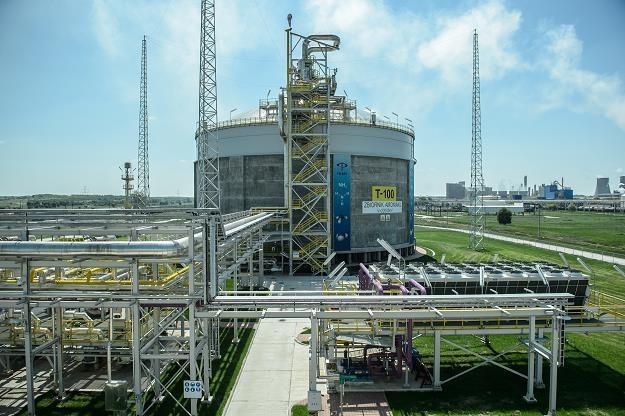 Zakłady azotowe w Puławach - stokaż amoniaku /PAP