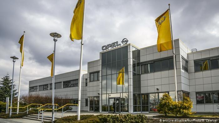 Zakłady Opel w Gliwicach /Deutsche Welle