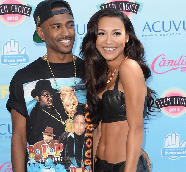 Zakochani Big Sean i Naya Rivera (fot. Jason Merritt) /Getty Images/Flash Press Media