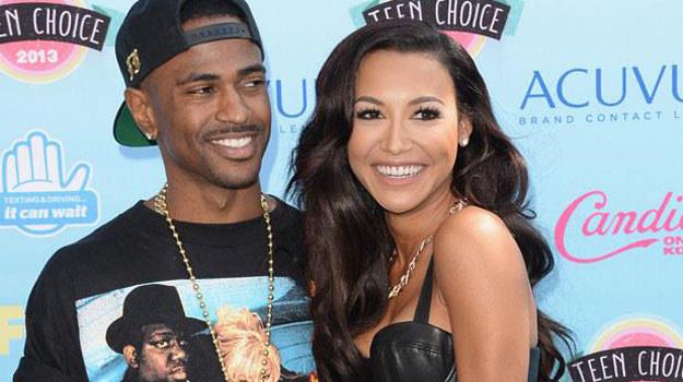 Zakochani Big Sean i Naya Rivera /Jason Meritt /Getty Images