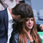 Zakochani Shakira i Gerard Pique na trybunach