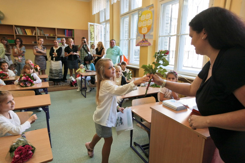 Zakończenie roku szkolnego 2013/2014 w szkole podstawowej nr 1 w Gorzowie Wielkopolskim /Lech Muszyński /PAP