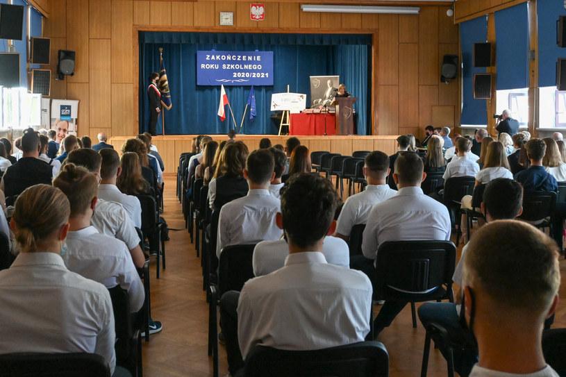 Zakończenie roku szkolnego w Tarnowie /Tadeusz Koniarz /Reporter