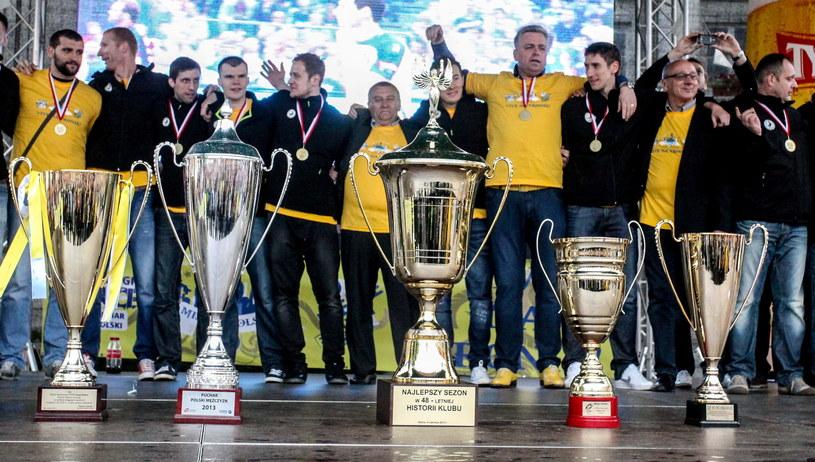 Zakończony sezon był niezwykle udany dla Vive Targów Kielce /Fot. Michał Walczak /PAP