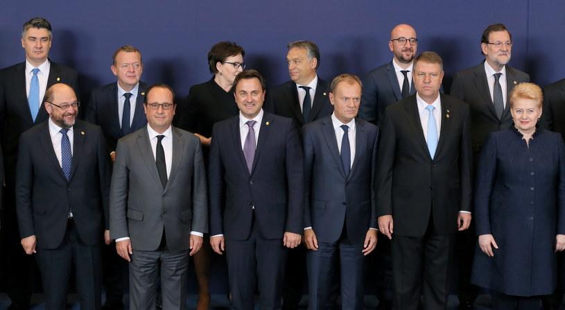 Zakończył się szczyt ws. uchodźców. Nie obyło się bez sporów /PAP/EPA