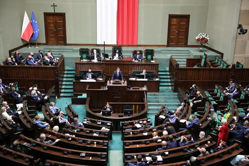 Zakończyło się głosowanie w Sejmie /PAP/Wojciech Olkuśnik /PAP