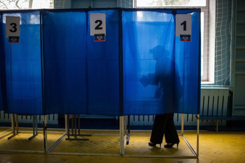 Zakończyło się tak zwane referendum w Obwodzie Ługańskim na Ukrainie. /ALEXEY FURMAN /PAP/EPA