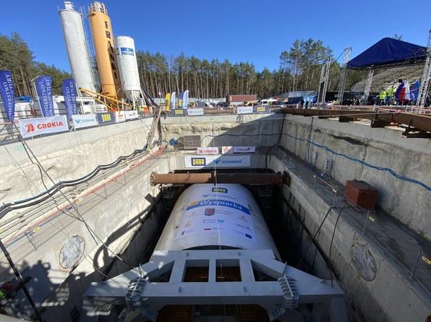Zakończyły się prace przy drążeniu tunelu w Świnoujściu /Aneta Łuczkowska /RMF FM