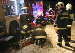 Zakopane: Bus spadł ze skarpy
