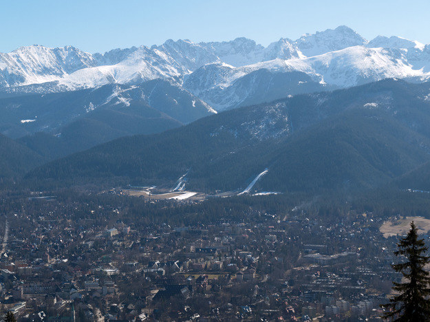 Zakopane - panorama miasta /123RF/PICSEL