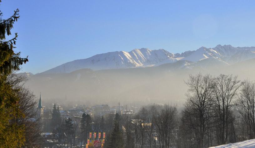 Zakopane. Smog nie odpuszcza /Albin Marciniak /East News