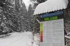 Zakopane w białej szacie, TOPR ogłosił zagrożenie lawinowe