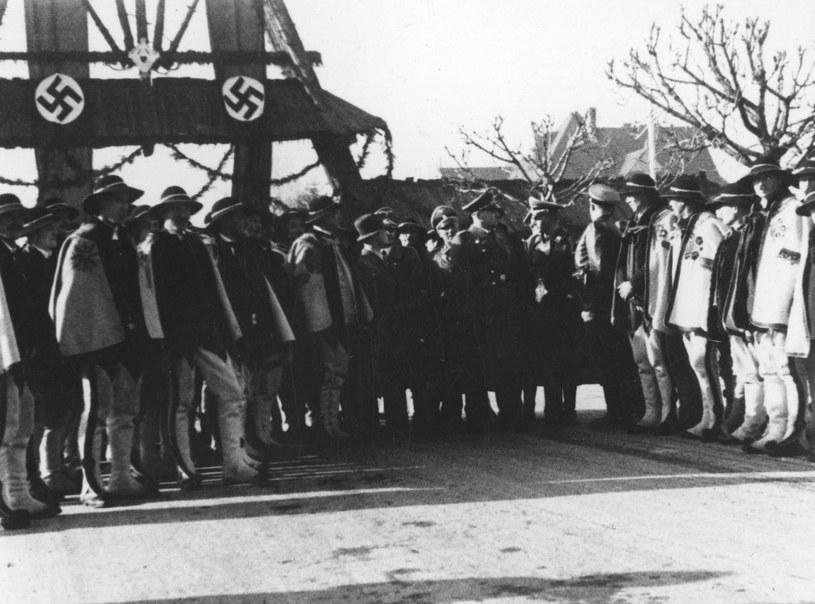 Zakopane. Wizyta gubernatora Hansa Franka /Z archiwum Narodowego Archiwum Cyfrowego