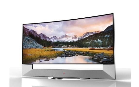 Zakrzywiony telewizor Ultra HD 105UB9 marki LG /materiały prasowe