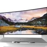 Zakrzywiony telewizor Ultra HD o przekątnej 105 cali