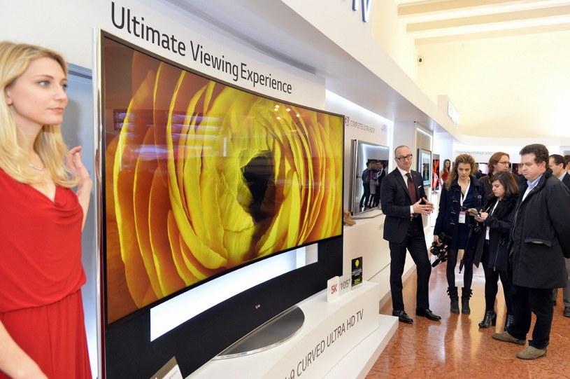 Zakrzywiony telewizor ULTRA HD /materiały prasowe