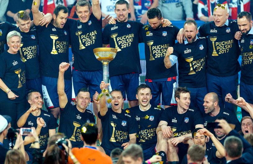 ZAKSA kilka dni temu wywalczyła Puchar Polski /Maciej Kulczyński /PAP